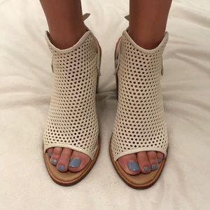 Rag n Bone perforated leather plateform sandals